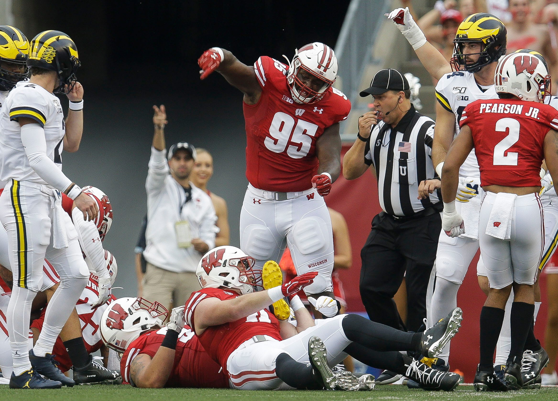 UW defensive coaches want to see Keeanu Benton become a consistent threat