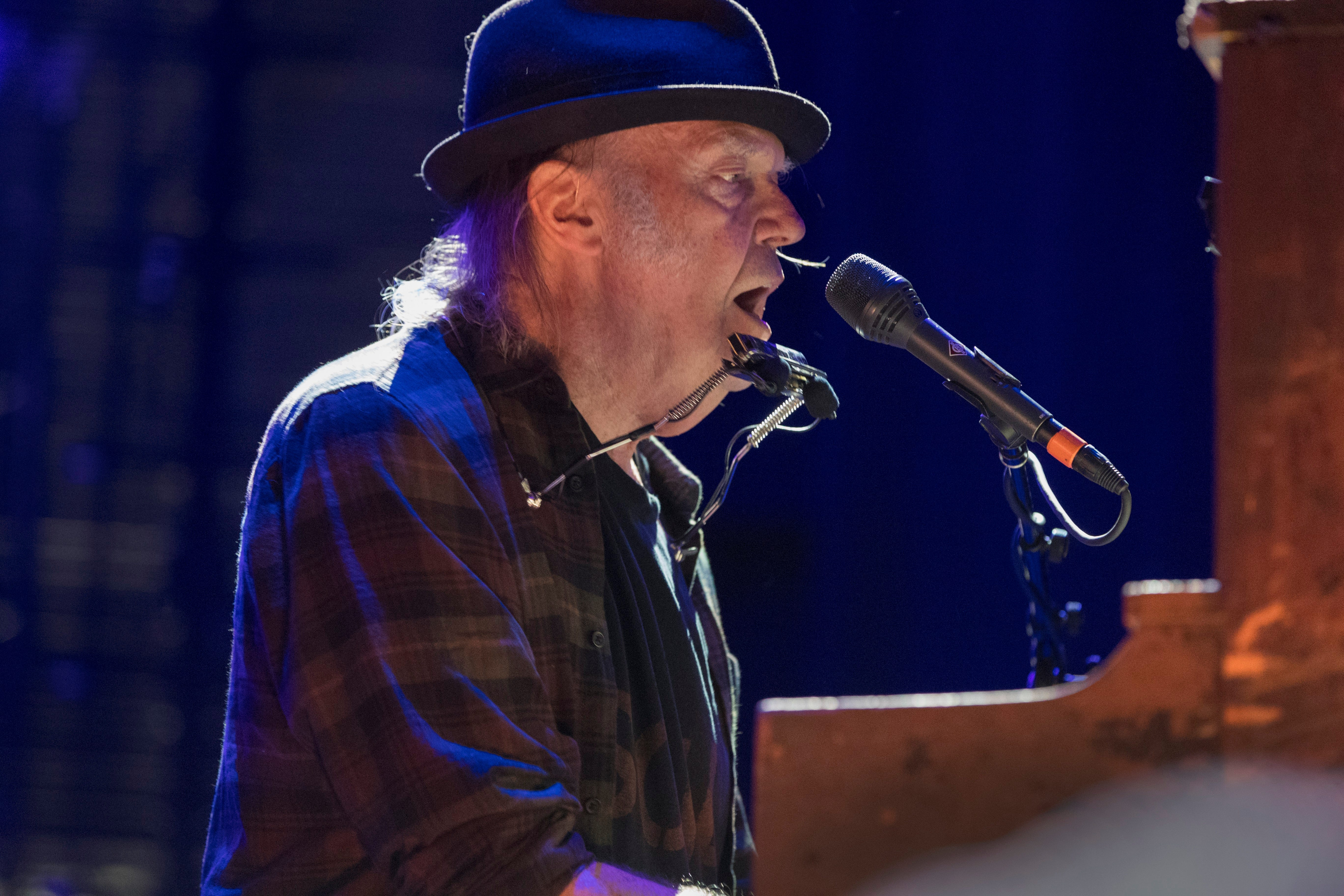 Neil Young is touring old arenas with Crazy Horse. Milwaukee and Madison may be on the itinerary