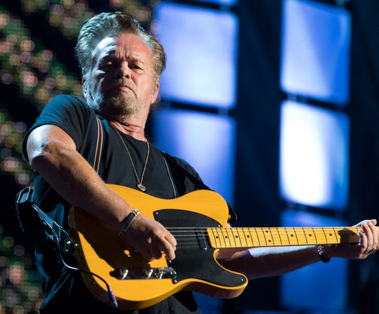John Mellencamp performs at Farm Aid Saturday, Sept. 21, 2019 at Alpine Valley Music Theatre in East Troy, Wis. Mellencamp founded Farm Aid with Willie Nelson and Neil Young in 1985.