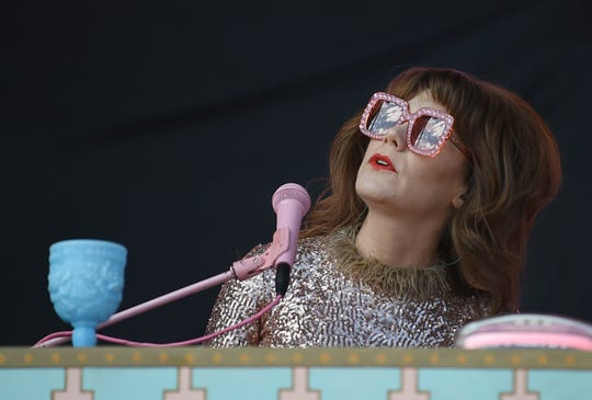 Jenny Lewis performs during the second day of the Pilgrimage Music & Cultural Festival at The Park at Harlinsdale Sunday, Sept. 22, 2019 in Franklin, Tenn.