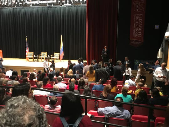 Excitement surrounds Colombian president's New Jersey visit