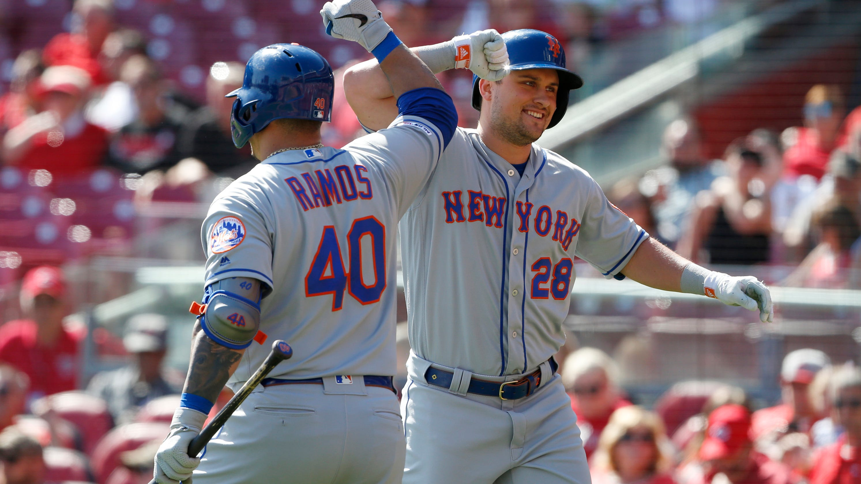 official photos 8c690 ce350 With a 6-3 win, Mets take series from Reds for interesting ...