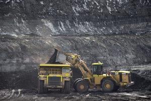 Coal pit J19 on Feb. 2, 2017, at the Kayenta Mine.