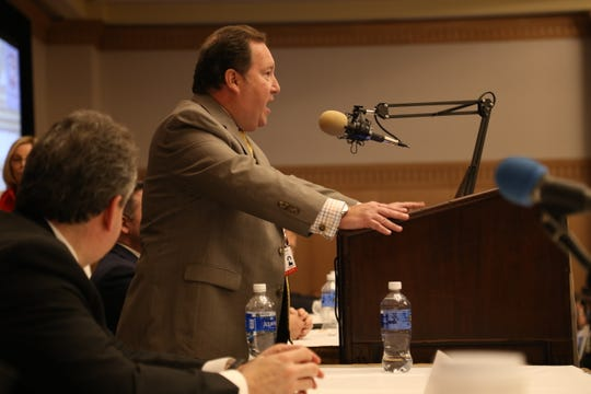 "David Sigale, a Chicago-based attorney who has represented the Second Amendment Foundation in multiple federal cases, addresses the crowd at the ""Freedom Now"" gun rights policy conference on Sept. 21, 2019."