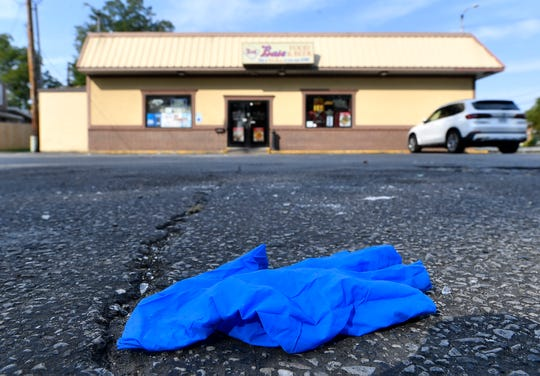 One man is dead and another in critical condition following an early morning shooting in the 500 block of N. George Street, Sunday, September 22, 2019.John A. Pavoncello photo