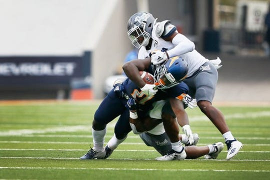 Nevada held UTEP to 278 total yards in its 37-21 win Saturday at Sun Bowl Stadium.