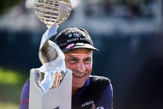 Rocco Mediate wins the Sanford International on Sunday, Sept. 22, 2019.
