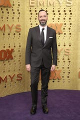 Tony Hale arrives at the 71st Emmy Awards at the Microsoft Theater.