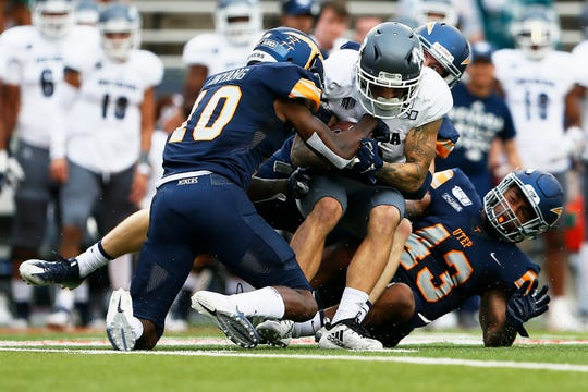 The Nevada offense gained more than 400 yards on just 59 plays in the Wolf Pack's win over UTEP.