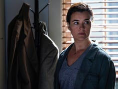 """""""Into the Light"""" - With their lives in danger, Gibbs and Ziva\'s rogue investigation takes an unexpected turn when a possible terrorist plot is revealed, on NCIS, Tuesday, Oct. 1 (8:00-9:00 PM, ET/PT) on the CBS Television Network. Pictured:  Cote de Pablo as Ziva David. Photo: Cliff Lipson/CBS ©2019 CBS Broadcasting, Inc. All Rights Reserved"""