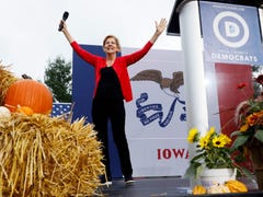 Elizabeth Warren is on the rise and so is the criticism from her Democratic rivals