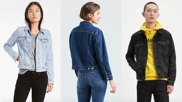 Levi's denim jackets are iconic for a reason.