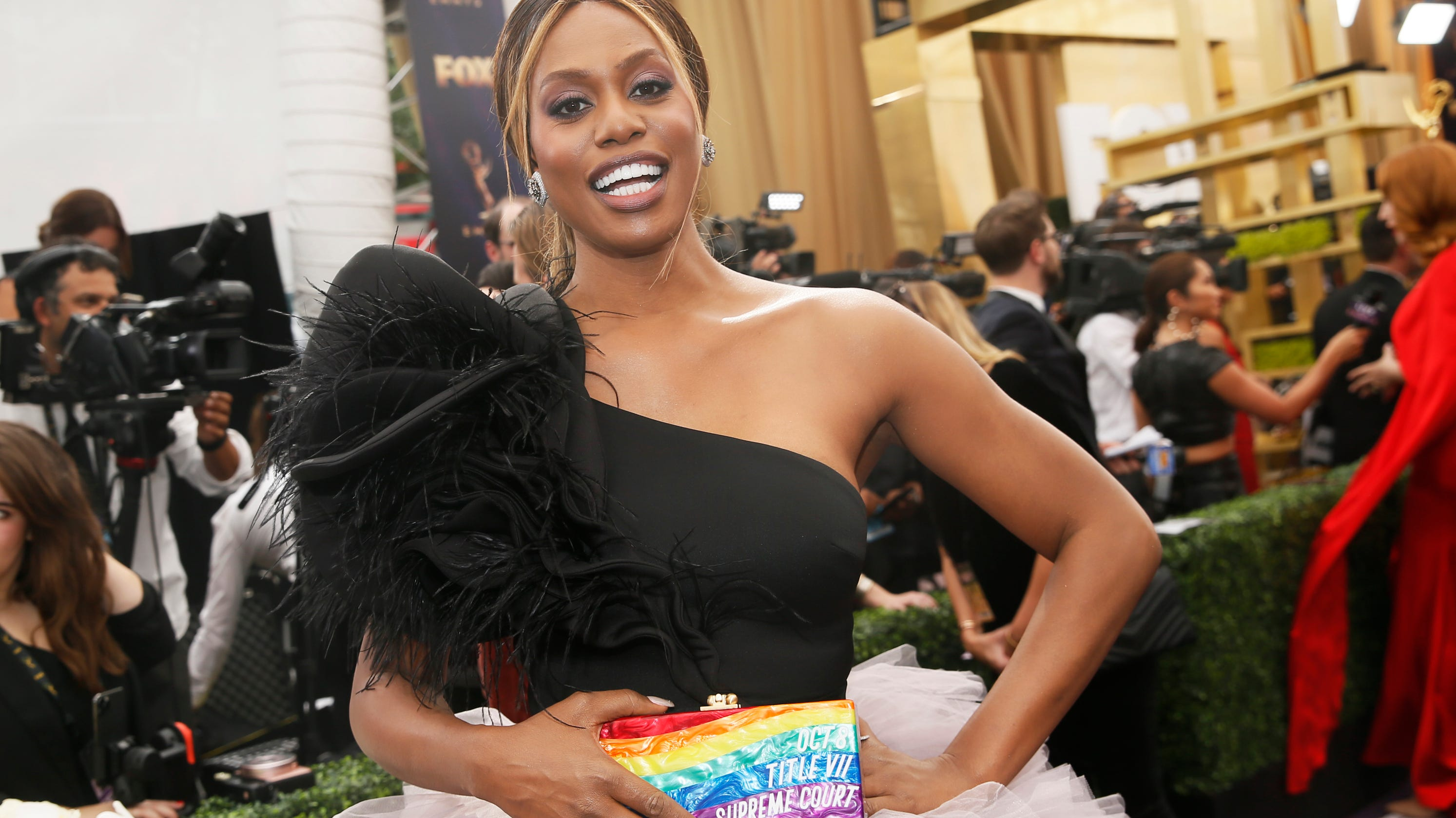 Image result for Laverne cox emmy 2019