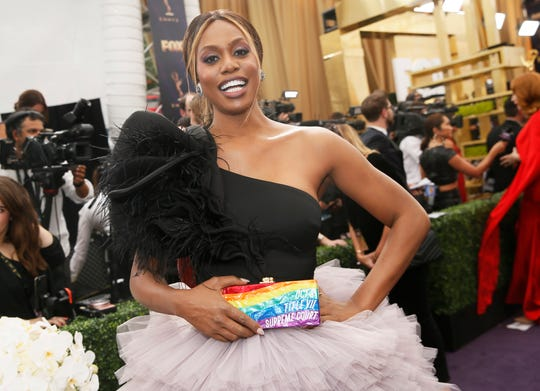 Laverne Cox's Emmys 2019 look.