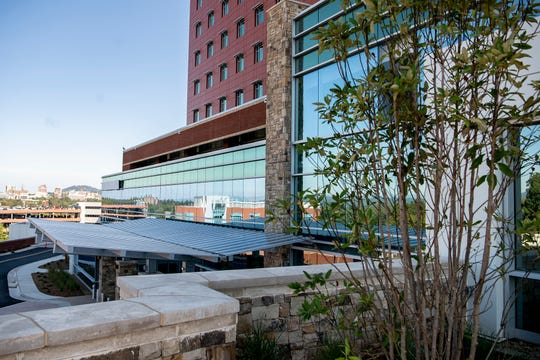 The new North Tower at Mission Hospital will be opening soon with a new emergency department and added patient rooms with smart technology.