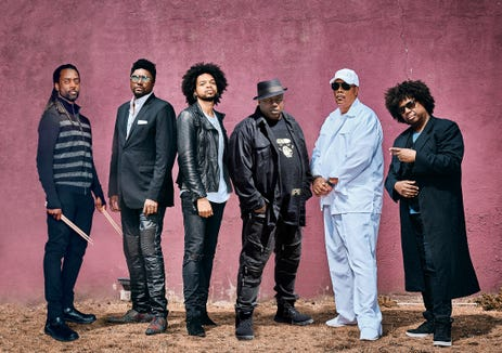 The New Power Generation play the music of Prince Sept. 28 at the Admiral Theatre.