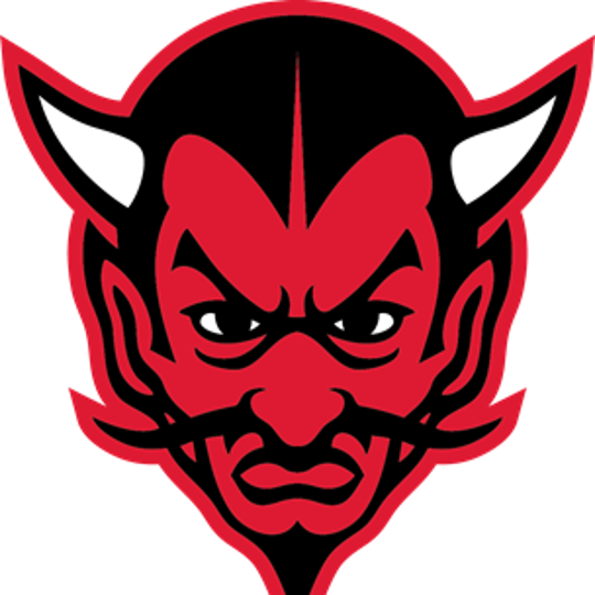 The Red Devil is the mascot of Rancocas Valley Regional High School