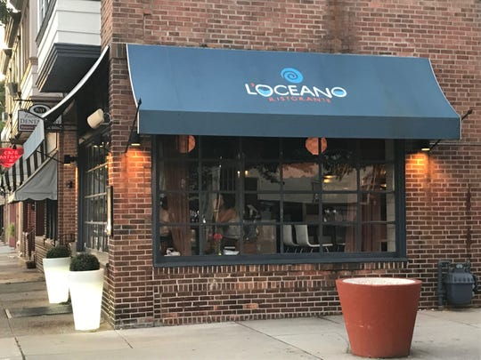 L'Oceano Ristorante, at Haddon and Fern avenues in Collingswood, has announced plans to close Oct. 26.