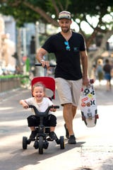 The Liki Trike is easy to take with you almost everywhere.