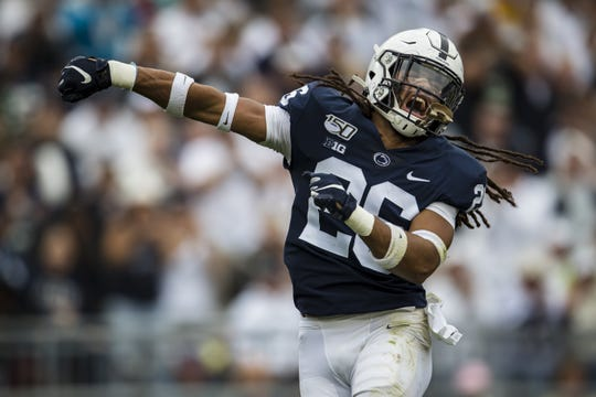 13. Penn State (3-0) | Last game: Defeated Pittsburgh, 17-10 (Week 3) | Previous ranking: 17.