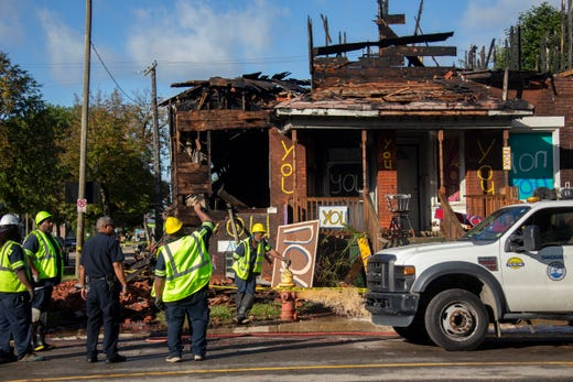 Arson is suspected after fire guts building at Heidelberg Project
