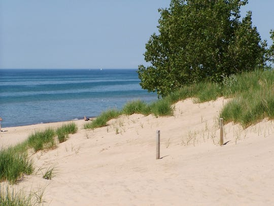 The Indiana Dunes National Park saw its highest number of visitors this summer after receiving national park status.