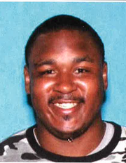 Police released Darius Calhoun's mugshot late Monday to spur tips.