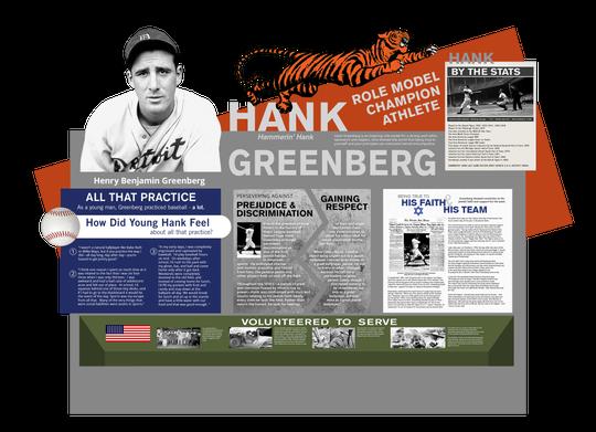 The Hank Greenberg display.