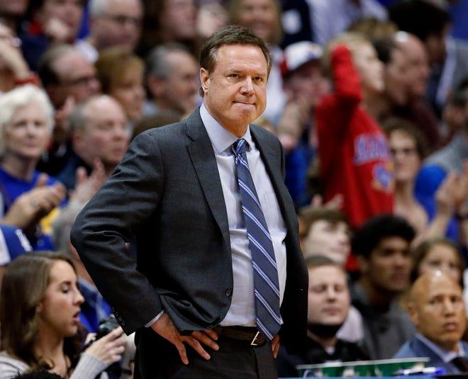 Kansas coach Bill Self
