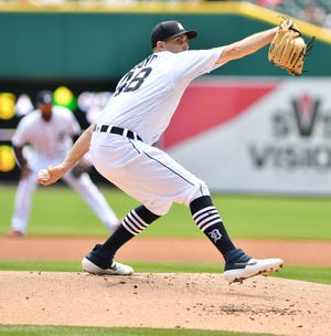 Tigers pitcher Matthew Boyd ranks fifth in the American League with 234 strikeouts.