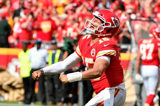 Patrick Mahomes and the high-scoring Chiefs will be coming to Detroit this weekend.