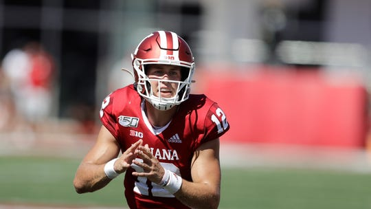 Indiana quarterback Peyton Ramsey has started the last two games with mixed results.