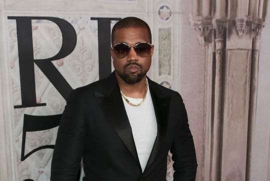 In this Sept. 7, 2018, file photo, Kanye West attends the Ralph Lauren 50th Anniversary Event held at Bethesda Terrace in Central Park during New York Fashion Week in New York.