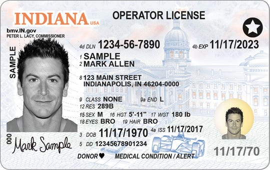 This is a Real ID-compliant driver's license, which will be one of the only forms of accepted identification to fly in the U.S. starting Oct. 1, 2020.