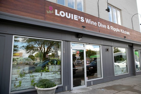 Louie's Wine Dive & Ripple Kitchen in Broad Ripple closed on Sept. 21, 2019.