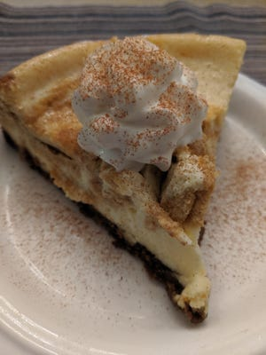 Will this pumpkin cheescake have what it takes for Michael Knock to win his church baking contest?