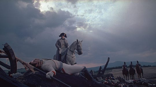 """Image from the 1966 film adaptation of """"War and Peace."""""""
