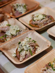 A dish from last year's Taste America event.