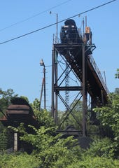 A coal mining operation outside Whitesburg, Kentucky, this summer.