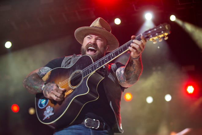 The Zac Brown Band performs at Bourbon and Beyond in Louisville on Sept. 22, 2019.