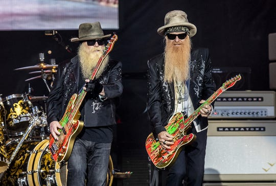 ZZ Top performed on the Oak stage at Bourbon & Beyond on Sept. 22, 2019. The band's management didn't allow The News-Press to shoot photos of Friday's concert at Hertz Arena in Estero.