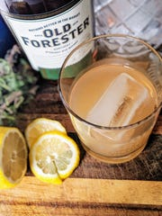Up your cocktail game with this Lemon Lavender Sour