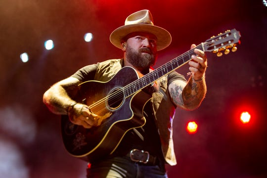 The Zac Brown Band performs at Bourbon and Beyond in Kentucky on Sept. 22.