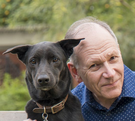 """""""Dog is Love: Why and How Your Dog Loves You"""" author Clive D.L. Wynne, PhD."""