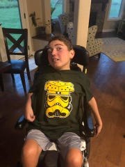 Kaden Stark, 14, of Mukwonago will be remembered for many things such as his philanthropy, a killer smile and his love of Star Wars. Stark, of Kaden's wish, died on Sept. 19.