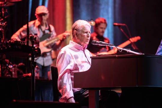 Brian Wilson performs at the Riverside Theater in Milwaukee on Sept. 22, 2019.