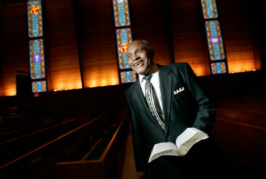 Rev. Willie Wanzo Sr., pastor at Metropolitan Missionary Baptist Church.