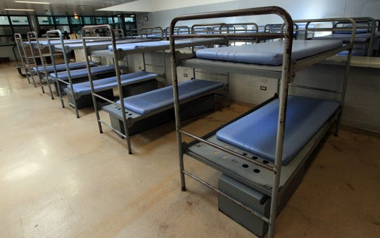 Inmate housing in the Frank Lotter building of the Milwaukee County House of Correction in Franklin, Wis.