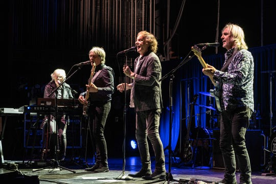 The Zombies perform at the Riverside Theater in Milwaukee on Sept. 22, 2019.