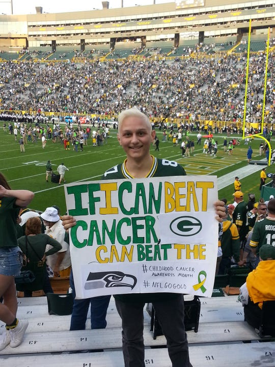 Raphael Ordan, diagnosed with Hodgkin lymphoma in 2017, is now cancer-free after being enrolled in a clinical trial at Medical College of Wisconsin and Children's Hospital of Wisconsin.